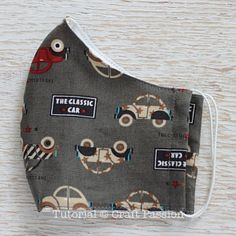 Face mask - embroider creepy mouth stitched closed - no ear hooks, elastic top and bottom all the way around head instead masks diy sewing no elastic Easy Face Masks, Homemade Face Masks, Diy Face Mask, Sewing Patterns Free, Free Sewing, Free Pattern, Pattern Sewing, Fabric Sewing, Pattern Drafting