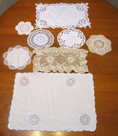Bulk   Lot of 8 Upcycle Vintage Supplies Mixed by NormasTreasures