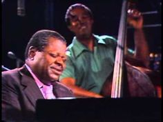 Oscar Peterson - Montreux Jazz Festival 1977     There Is No Greater Love (Jones & Symes) 0:21  You Look Good To Me (Wells & Lefco) : 6:24    Jazz Pianist Oscar Peterson plays a special concert in Montreux, beginning by playing alone he is then joined by Ray Brown and Niels-Henning Ørsted Pedersen, two of the greatest jazz bassists.    Oscar Peterson - Piano  Ray Brown - Bass  NHØP - Bass