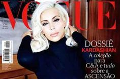 "See Kim Kardashian Channel Marilyn Monroe On The Cover Of ""Vogue Brasil"""