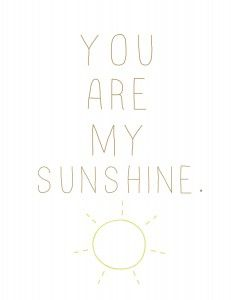 You are My Sunshine Free Printables | Summer Wall Art {part 2} |www. MoritzFineBlogDesigns.com