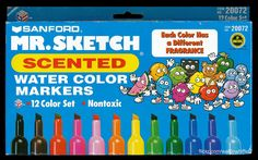 LOVED these things!  Except the black one, that one always made me want to puke.  lol