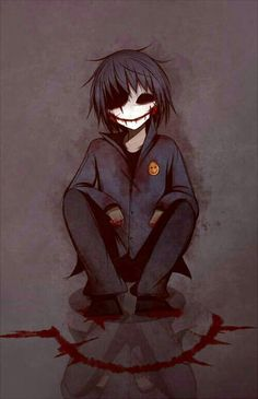 Read Jeff the killer x slenderman from the story crepypastas imágenes yaoi y más \(♡. Jeff The Killer, Creepy Art, Scary, Creepypasta Proxy, Chibi, Creepy Pasta Family, Eyeless Jack, Arte Obscura, Laughing Jack