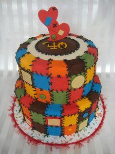 Quilt cake 4