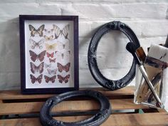 French Butterfly Print by TheFrameAndMirror on Etsy