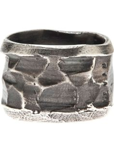 RENE TALMON L'ARMEE multi faceted ring - on Vein - getvein.com