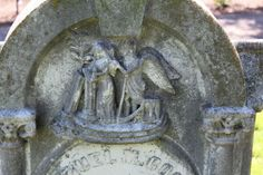 Death on a headstone in Union Cemetery, Redwood City, California