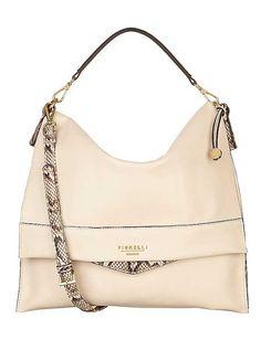 407fd1a5f5 Fiorelli Soft White  Morgan  Large Flap Over Shoulder Bag Fiorelli