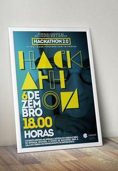 CeSIUM - Hackathon 2.0 // Print Design on Behance
