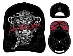 2996a2173c6 Gas Monkey Garage Baseball Cap by Concept One Accessories  FastnLoud Gas  Monkey Garage