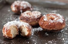 Gluten free donuts -- another Illy request.  This blog in general looks like it has some great GF baked goods.  Written by a teen with six younger sisters!  Cute!