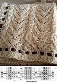 Kira knitting: Knitted pattern no. 167