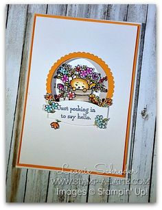 Stampin' Up! Pretty Kitty...I'm gonna have to get this set!