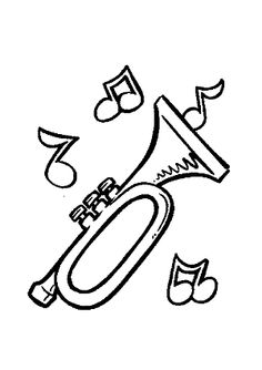 dibujos de la profesion  diseño grafico | Dibujos de instrumentos musicales. Dibujos de música