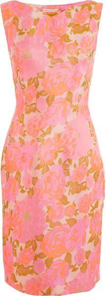 Barbara Tfank Slim Sheath Dress