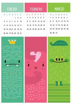 2015 Calendar/bookmark Design on Pantone Canvas Gallery