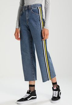 The Ragged Priest PARALLEL - Flared Jeans - mid blue - Zalando.be