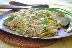 Asian Noodle Salad, a great summer BBQ side dish