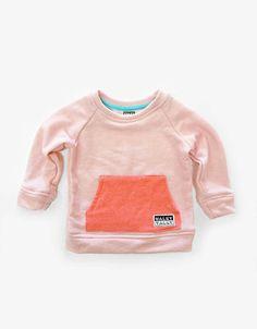 Kid's sweatshirt, light pink sweatshirt, French Terry, Toddler sweatshirt