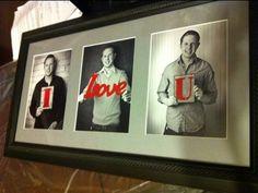 geschenkideen valentinstag bilderrahmen fotocollage liebesbotschaft