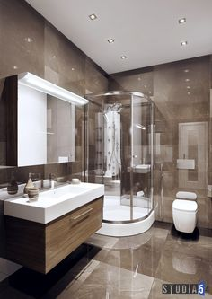 Small Bathroom Plans, Small Bathroom With Shower, Interior Design Videos, Apartment Interior Design, Room Design Bedroom, Home Room Design, Bathroom Design Luxury, Modern Bathroom Design, Toilet Tiles Design