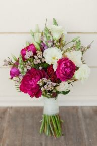 Bouquet by Flowers of Yarra Glenn, Photo by Kate Robinson Photography via Style Me Pretty Australia - Stems and Petals