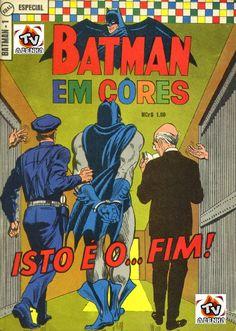 TV A LENHA E O VIAJANTE DO TEMPO: GIBIS EBAL (1) (CLASSIC COMICS) - BATMAN EM CORES ...