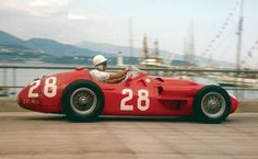 #1956 #Stirling Moss # Maserati 250F GP Monaco