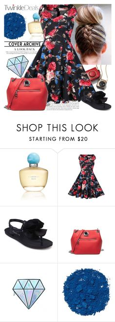 """""""TwinkleDeals"""" by gaby-mil ❤ liked on Polyvore featuring Oscar de la Renta, Unicorn Lashes, Illamasqua, vintage and twinkledeals"""