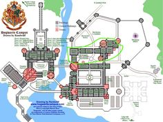 Minecraft Hogwarts Blueprints
