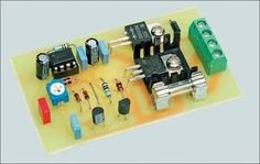 motor speed controller or lamp dimmer schematic circuit - Ask Merve Simple Electronics, Hobby Electronics, Electronics Components, Electronics Projects, Electronics Gadgets, Electronic Circuit Design, Electronic Engineering, Electrical Engineering, Electrical Circuit Diagram