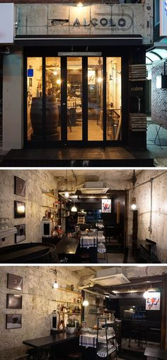 [No.43 알콜로] 인더스트리얼 빈티지 맥주집 인테리어 10평 Bakery Interior, Brick Interior, Cafe Restaurant, Restaurant Design, Cafe Design, Store Design, Study Cafe, Vintage Cafe, Metal Buildings