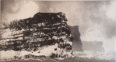 Noup of Noss 2012 by Norman Ackroyd Ra exhibiting artist at North House Gallery Manningtree, Essex Norman Ackroyd, Sea Birds, Etchings, Designs To Draw, Printmaking, Landscape, Short Film, Drawings, Prints