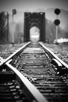 Down the tracks  (by Brad Sloan)