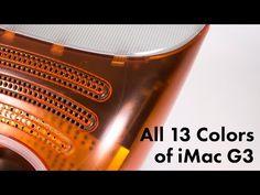 All 13 Colors of iMac – 512 Pixels Macbook Pro Sale, Newest Macbook Pro, New Macbook, Apple Watch Nike, New Apple Watch, Imac G3, Thunderbolt Display, Tech Branding, Iphone Price