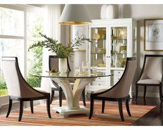 Sofa Slipcovers Manuscript Round Table Base Dining Tables Dining Room Thomasville Furniture