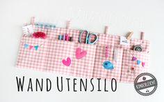"""Adventskalender-Türchen Nr. 12 - Wandutensilo-Anleitung von Daniela und Nadine von """"kinderleicht & schön"""" ~ Lila-Lotta"""