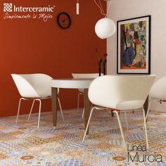 Los pisos con textura harán más divertido y despreocupado tu hogar.