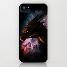 I am FIRE. I am DEATH. iPhone & iPod Case by SUIamena - $35.00