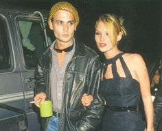 Kate Moss and Johnny Depp Johnny Depp, Kate Moss, Moss Fashion, Pinterest Instagram, When You Were Young, Hot Couples, Power Couples, Teenage Years, Models