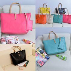 couleurs mode féminine pU sacs en cuir sacs hot lady satchel sacs à bandoulière