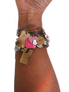 Custom Charms, Memorial Gifts, Handmade Accessories, Stainless Steel Bracelet, Birthdays, Anniversary, Charmed, Bracelets, Inspiration