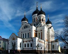 Catedral-rusa. TALLÍN