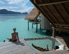 Misool Eco Resort, West Papua, Indonesia. Yes please.