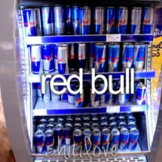 red bull! my love