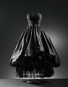Balenciaga evening dress ca. 1952, From the Cristobal Balenciaga Museum