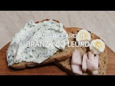 Branza cu leurda - Savoare si arome - Episod 10, sezon 5 - YouTube Food Videos, Camembert Cheese, Youtube, Youtubers, Youtube Movies
