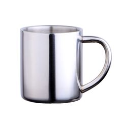 New 304 Double Wall Stainless Steel Coffee Mug Creative Non-Magnetic Children Water Cup Beer Drinkware #Affiliate