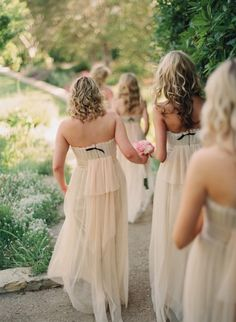 Those are such lovely bridesmaid dresses.
