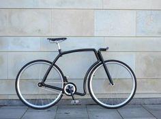Steel Tube Fixed Gear Commuter Bike